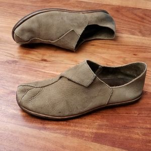 Men's Cydwoq Han Made Suede Leather Slip On Shoes
